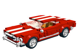 lego ford mustang ford mustang brickguider com