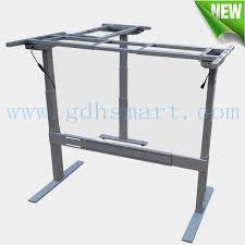 bureau montauban montauban l pieds hauteur réglable bureau avec structure en métal