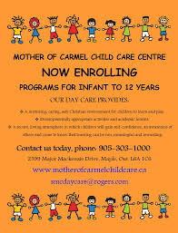 day care flyers