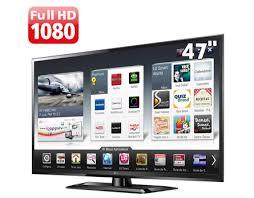 """Common TV 47"""" LED LG 47LS5700 Full HD com Smart TV, Conversor Digital e  @MT67"""