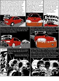 ricer car tale of the red ricer glitch and his cartoon garage