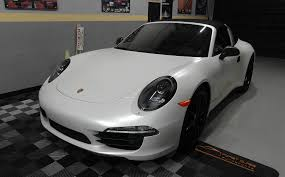 porsche vinyl porsche 911 targa 4s awd full body wrapped by first class