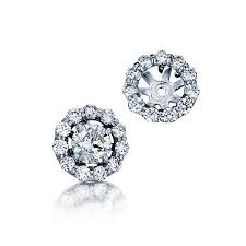 diamond earring jackets barmakian diamond earring jackets barmakian jewelers