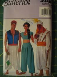 Jasmine Halloween Costume Adults Halloween Costume Pattern Disney Aladdin Jasmine Genie Jafar