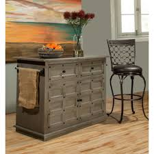 black granite top kitchen island hillsdale furniture camargo gray kitchen island with granite top