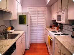 how to open up a galley kitchen before and after one wall kitchen