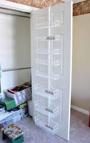Behind Bathroom Door Storage Best 25 Door Organizer Ideas On Pinterest Door Spice Rack