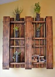 Making Wooden Shelves For Storage by Best 25 Pallet Shelves Ideas On Pinterest Pallet Shelving