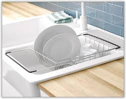 Kitchen Drying Rack For Sink by Genius Style Of Over The Sink Dish Drying Rack Trends4us Com