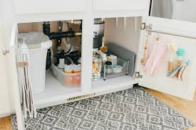 kitchen sink cabinet caddy kitchen sink organization ideas clean and scentsible