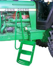 added steps u0026 handrails john deere tractor