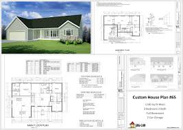 custom house plan house and cabin plans plan 65 custom home design dwg and pdf