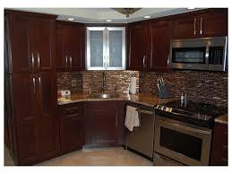 Kitchen Contemporary Cabinets Tile Backsplash Built In Wine Storage Display Stainless Steel