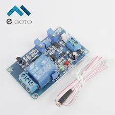 photocell sensor automatic light control switch 12v photoresistor sensor relay module automatic light control switch