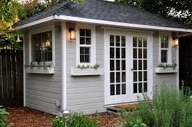summerwood shed 8 feet x 14 feet sonoma studio double french