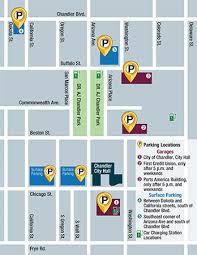 map of chandler az downtown redevelopment