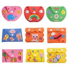 newest eva wallets purse kids diy handmade eva foam stickers craft