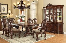 pedestal dining room sets rovledo double pedestal dining room set formal dining sets