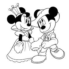coloriage minnie mouse az coloriage