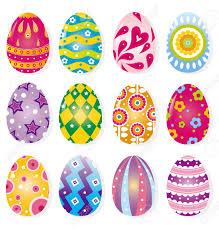 Cartoon Color Egg Easter Eggs Egg Decorating Craft Ideas