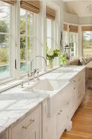 kitchen island ls white marble waterfall kitchen island ellajanegoeppinger com