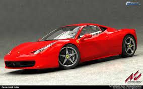 Ferrari 458 V8 - racing renders com 3d automotive art