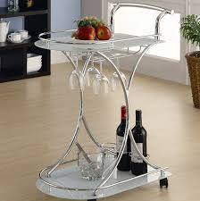 dining room cart amazon com wildon home whisper serving cart trolley tea bar