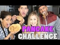 Challenge Wassabi Productions Pancake Challenge Superwoman Fouseytube Laurdiy