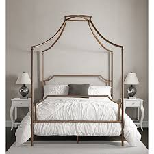 amazon com bailey brushed copper full size canopy bed kitchen