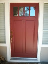 sequoia redwood from kelly moore in satin super nice door