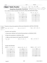 graphing quadratic equations vertex form to graph matching