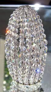 petite chandelier petite swarovski crystal beaded light bulb cover chandelier
