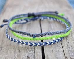 string bracelet men images Blue waxed string bracelets mens friendship bracelets men blue jpg
