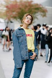 best street style from seoul fashion week vogue