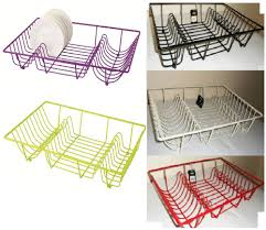 premium quality large metal wire dish drainer plate draining rack