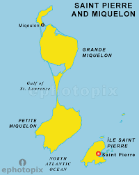 map of st and miquelon and miquelon map map of and miquelon