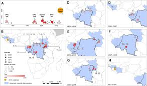 Africa Map Test by Mapping The Zoonotic Niche Of Ebola Virus Disease In Africa Elife