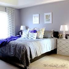 bedroom exquisite grey bedroom decor beautiful gray curtains