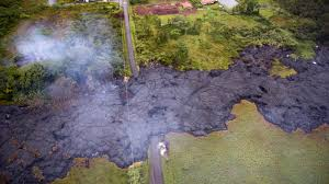 Hawaii Lava Flow Map Diverting Lava Flow May Be Possible But Some Hawaiians Object Npr