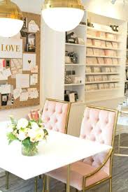 white and gold office desk gold and white office decor pink office decor feminine office gold