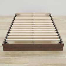 Beds Amazon Com Nexera 346031 Alibi Queen Size Platform Bed Walnut