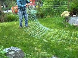 how to build a trellis archway bending cattle panel to make an arch for vertical trellis