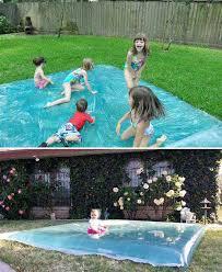 Backyard Fun Ideas For Kids Diy Backyard Projects To Keep Kids Cool During Summer Amazing