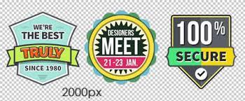 vector vintage badge design templates