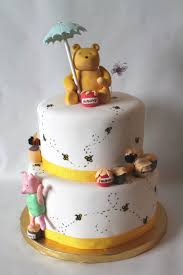 winnie the pooh baby shower classic winnie the pooh baby shower cake cakecentral