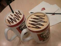 Hazelnut Coffee Kfc munjung just a traditional from singapore and jakarta our