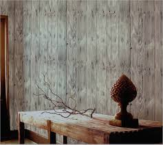 Wallpaper For Home by Blooming Wall Faux Vintage Wood Panel Wood Plank Wallpaper Rolls