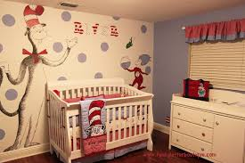 Cat In The Hat Crib Bedding Set Dr Seuss Cat In The Hat Nursery Modern Salt Lake City
