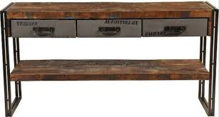wood and metal console table with drawers wood and metal sofa table awesome secret systems within 29 ege
