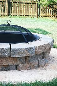 Firepit Bricks Pit Backyard Diy How To Done Outdoor Gas Pit Diy